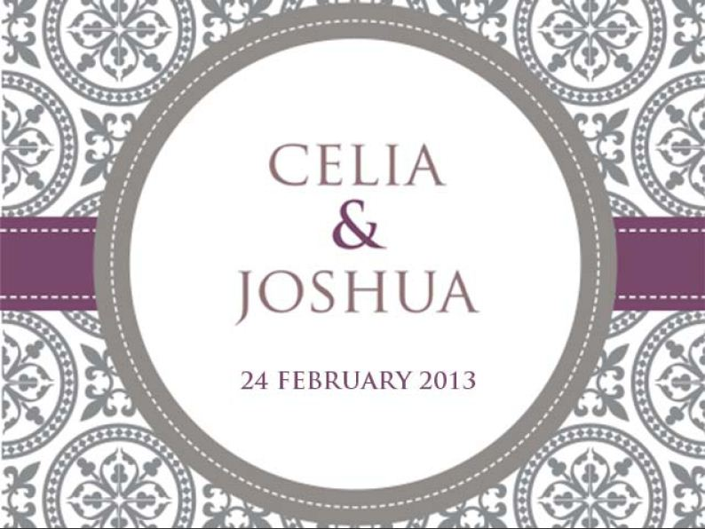 Celia and Joshua
